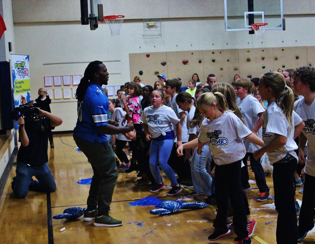 Pine Tree Elementary Celebrates Fuel Up to Play 60 Success