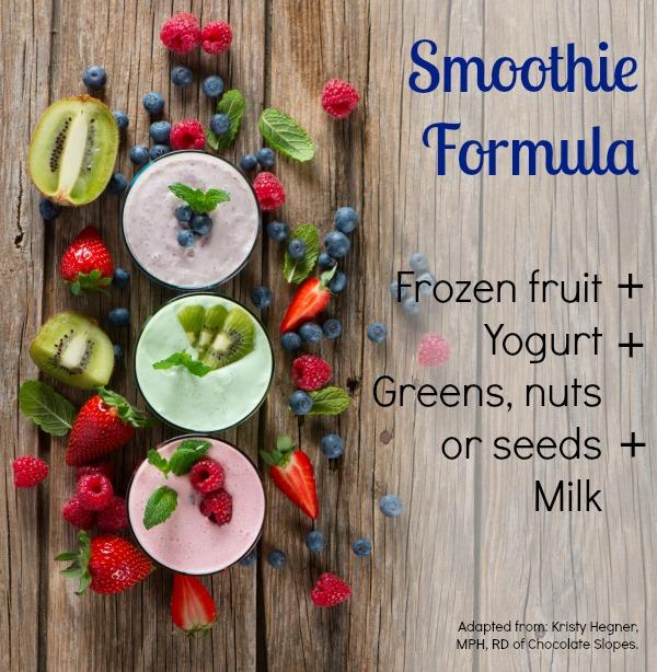 Smoothie Formula