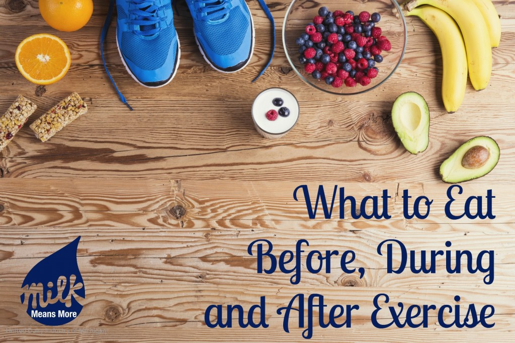 What to Eat Before During and After Exercise