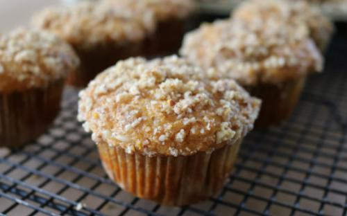 Try these Orange Pecan Crumble Sweet Potato Muffins for a fresh take on breakfast.