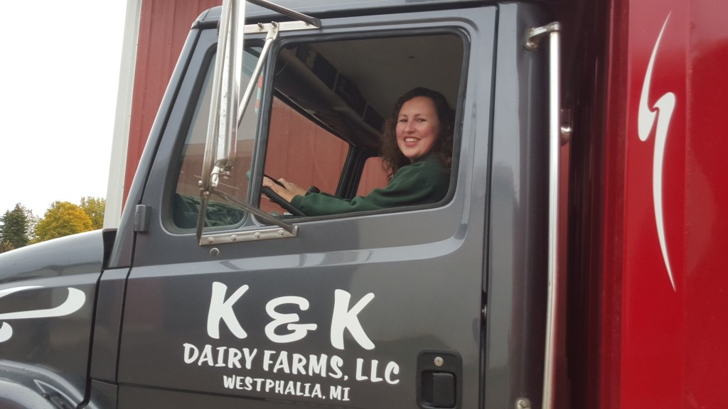 Michigan dairy farmer Kristi Keilen
