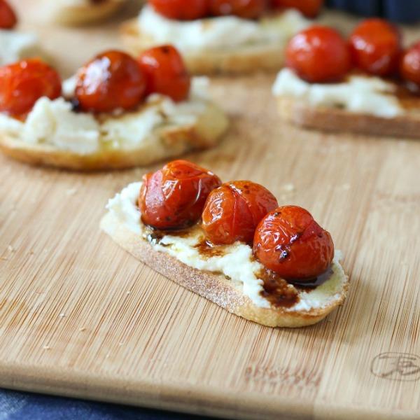 Roasted Garlic Whipped Feta Crostini - United Dairy ...