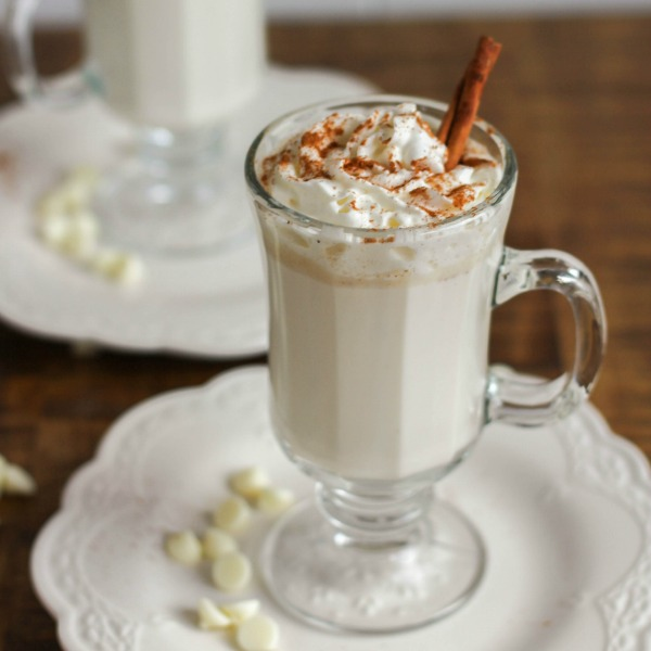Spiced White Hot Chocolate 600x600