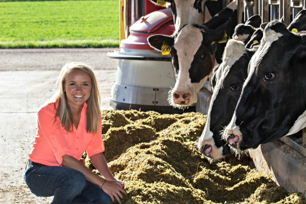 Jenna Taylor Dairy Nutritionist