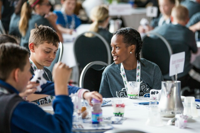 Michigan Students Learn to Lead with a Purpose through Fuel Up to Play 60