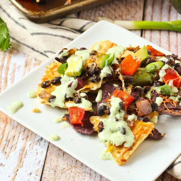 Vegetarian Nachos-featured image