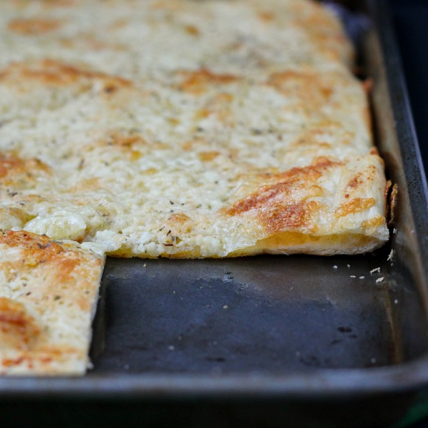 Cheesy Flatbread-featured image