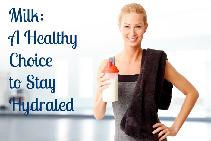 Milk - healthy choice to stay hydrated