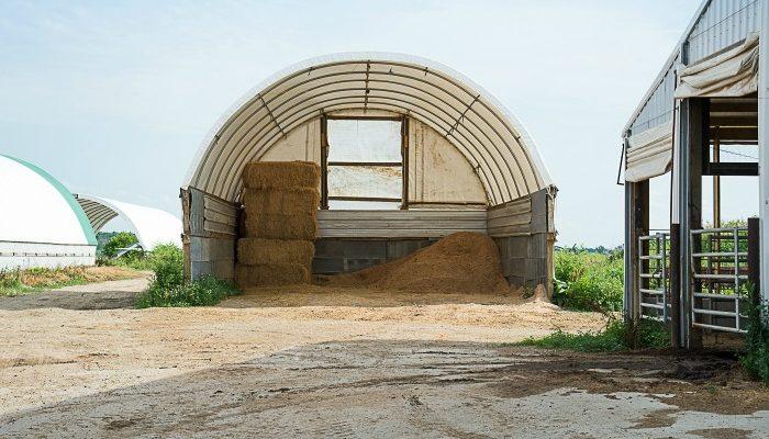 Storing Hay