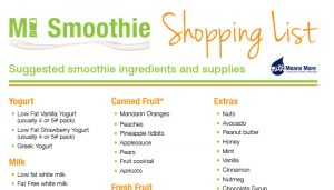 smoothie-shopping-list