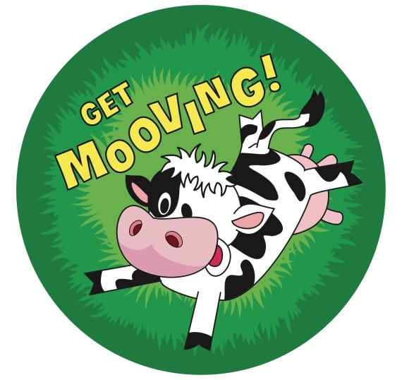 Get Mooving Stickers