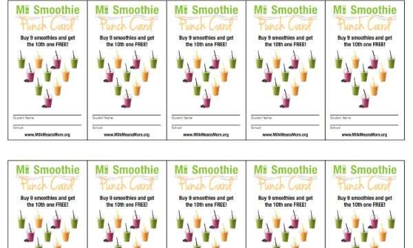 Smoothies In Schools United Dairy Industry Of Michigan