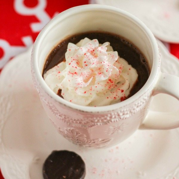 Spiked Peppermint Patty Hot Chocolate - United Dairy ...