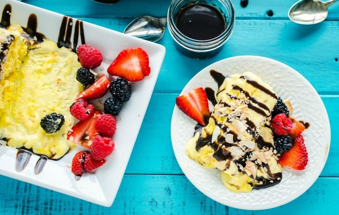 French Coconut Parfait Mothers Day Brunch Recipes