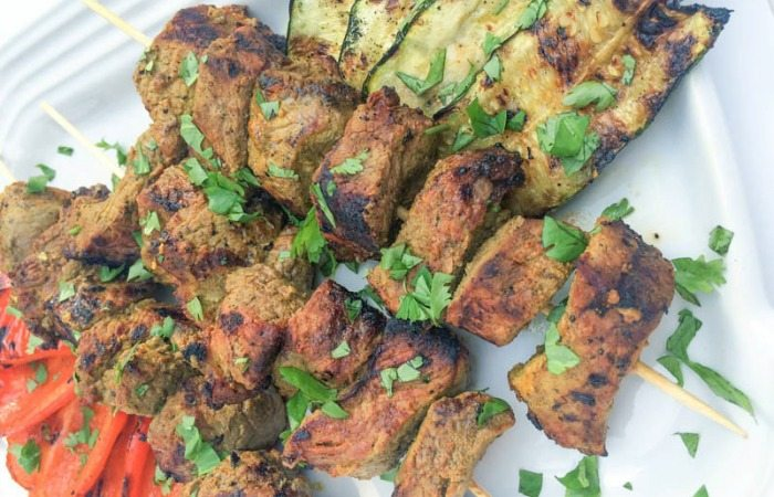 Indian-spiced beef kabobs-grilling recipes