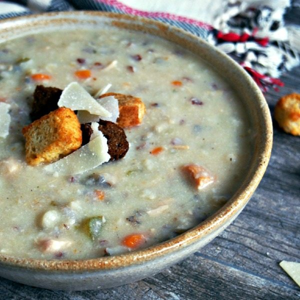 Slow Cooker Chicken and Wild Rice Soup - United Dairy ...