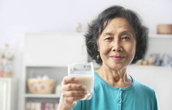 successful aging with dairy