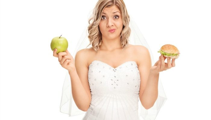 What to eat before your wedding