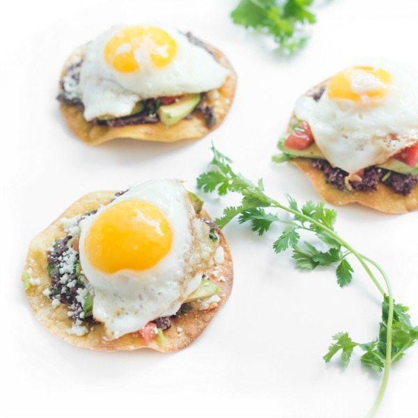 Breakfast Tostadas- featured