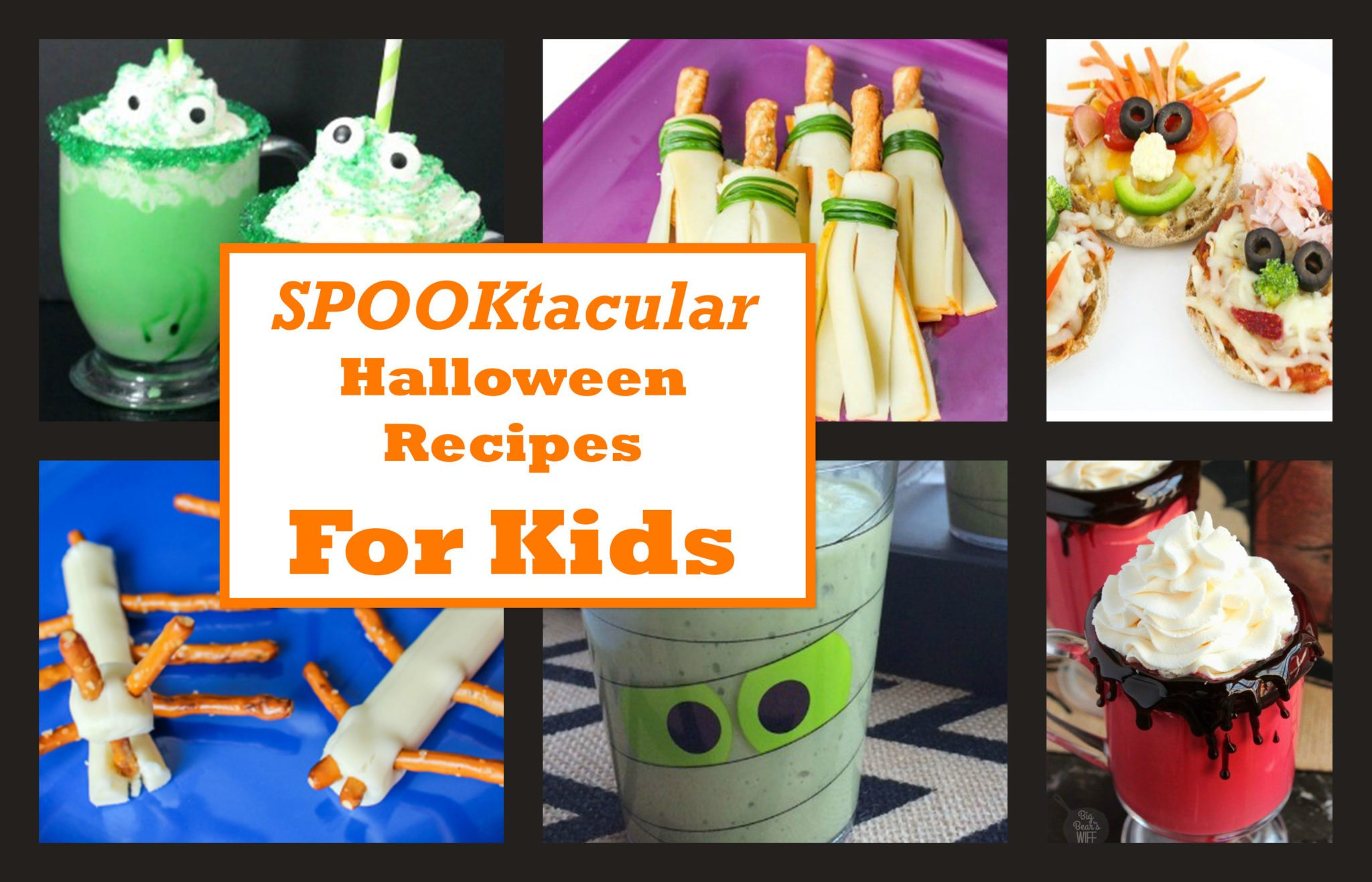 Kid friendly recipes for halloween united dairy industry for Easy kid friendly halloween treats