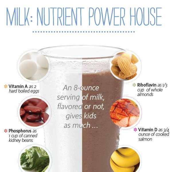Milk: Nutrient Powerhouse Poster
