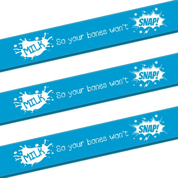 Milk Snap Slap Bracelets