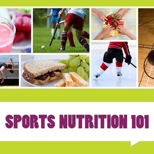 Sports Nutrition 101 guide for teens