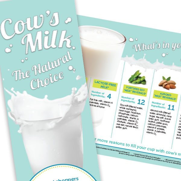 Cow's Milk: The Natural Choice brochure