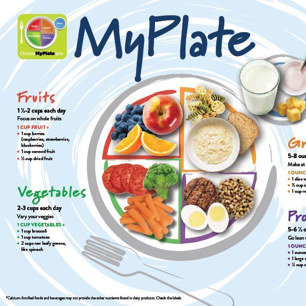 MyPlate for Teens/Adults handout
