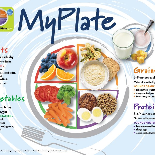 MyPlate for Teens/Adults Poster and handout
