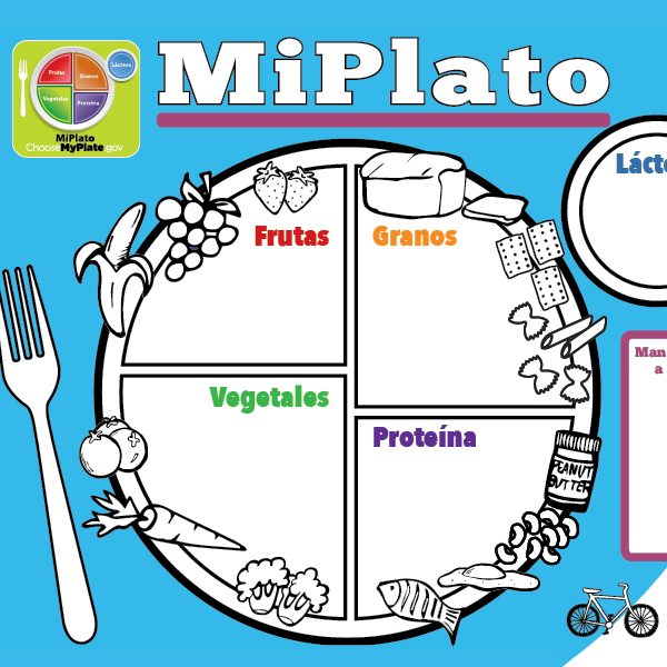 MyPlate for Kids handout – Spanish
