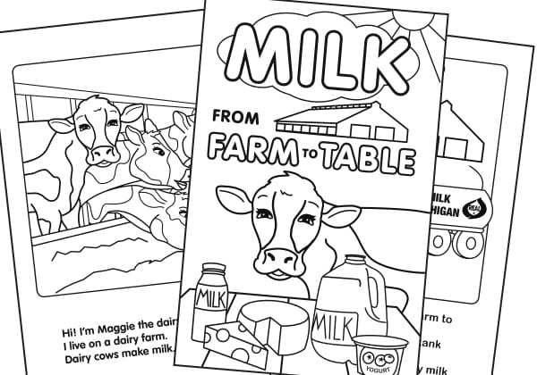 Coloring Book – Farm to Table