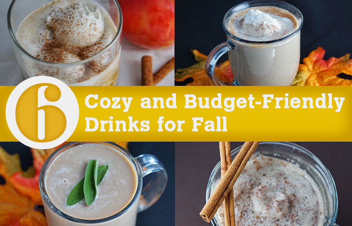 fall budget friendly beverages