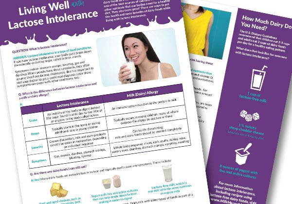 Lactose Intolerance handout