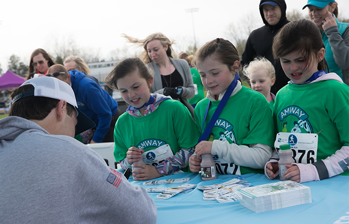 Jake Vedder promotes nutrition and physical activity to kids