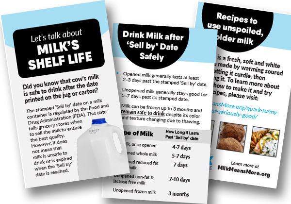 Milk Safety Brochure